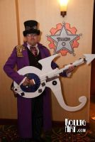 Steampunk Prince with Symbol Guitar by CaelynTek