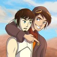Deponia: Rufus and Cletus by Lileyx