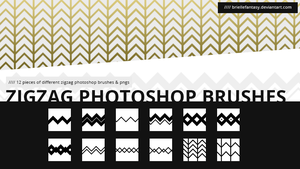 ZigZag Brush Set | FREE by BrielleFantasy