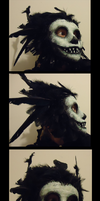 Fog Monster Mask by ScarecrowSpook