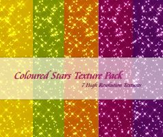 Coloured Stars Texture Pack2 by powerpuffjazz