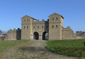 Arbeia Roman Fort, South Shields by bobswin