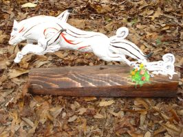 Final Okami Sculpture 3 by Clinkorz