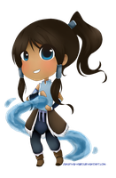 Chibi Korra by Sansrival-Valley