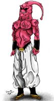 Super Buu by TimothyJamesF