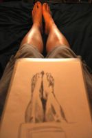 Drawing My Own Feet by atmp
