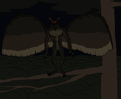 Mothman by Redspets