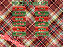 Christmas Gallery Folder Icons by LexiiQ
