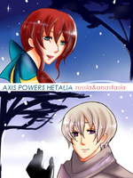 APH: Warm Touch of Snow by Chaltiere
