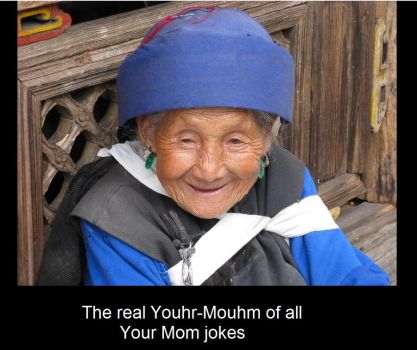 the real Youhr-Mouhm by AsLaucke14