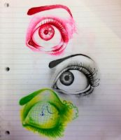 Eye Practice by StripTheColors