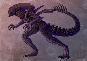 Xenomorph Commish by Essence-Of-Rapture