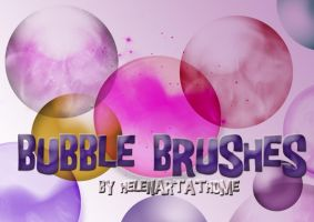 Bubble Brushes by Helenartathome