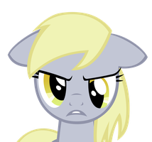 Angry Derpy by Ec8er