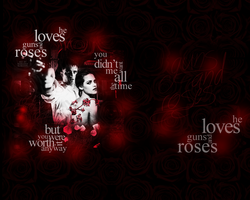 Guns and Roses (wp) by marlenarobsten