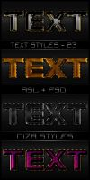 Text styles by DiZa - 23 by DiZa-74