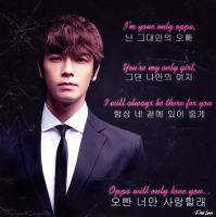 I'm Your Only Oppa by NileyJoyrus14