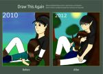 me and dark by 11newells