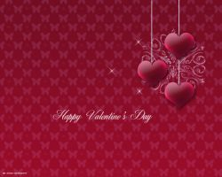 valentines day wallpaper by priesteres-stock