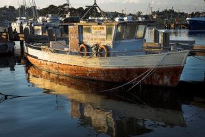 OLd Fishing Charter Boat by Sun-Seeker