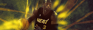 Dwyane Wade by burakdesign