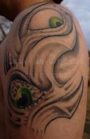 Biomech Eye Tattoo by edizzi