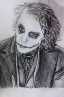 Joker Sketch by shiplessoceans