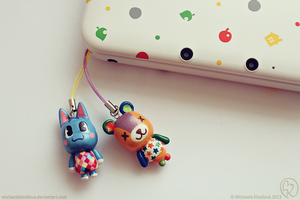 Animal Crossing charms by MichaelaKindlova