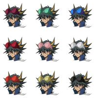 Yusei Fudo - Bra Googles by Wslasher