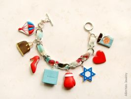 Charm bracelet by allim-lip