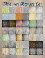Fine Art texture set 1 by chupla