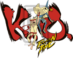 Commission: Fightin Time by Renner-P
