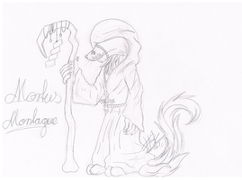 .:[SKETCH/REF]MORTUS MONTAGUE:. by Maniactheleader