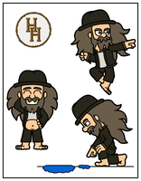 Harry Hobo Poses by HampoArgent