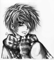 Emo boy with necktie by nohmai