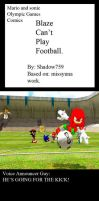 "M.A.S.O.G. Comic: ""Blaze Can't Play Football. by shadow759"