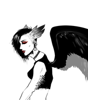 MIRANDA THE MODERN PUNK HARPY by Pharos-Chan