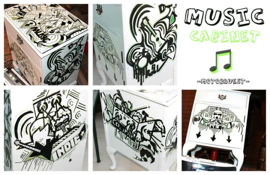 Music Cabinet by Motorquest