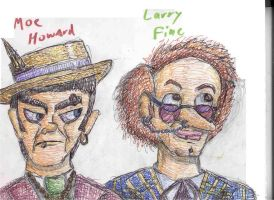 Odd Moe and Larry by Emeowrald