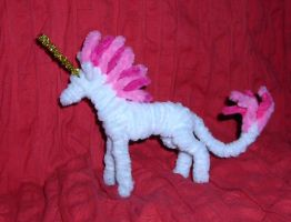 Pipe Cleaner Unicorn by StonerKitty