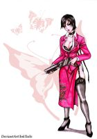 Ada Wong - Foxy Lady by InkTails