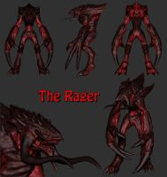 The Rager model by drogoth12