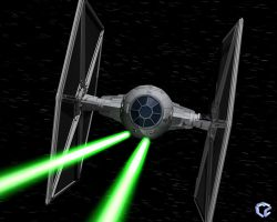 TIE Fighter by FLCN