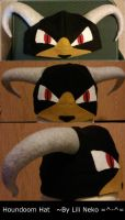 Houndoom Fleece Hat by LiliNeko