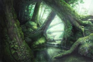 Forest by Oyoshina