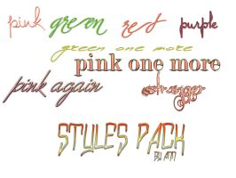 styles pack by ann by nothingmiss15