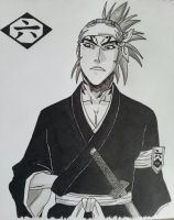 Abarai Renji: 6th Division. by Sucrtj