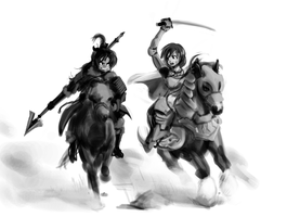 Puella Imperator - The Knight and the Nomad by Csp499