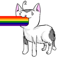 this cat is gay by NuclearFusi0n