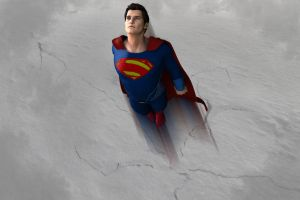 Man of Steel: Flight by kevmann